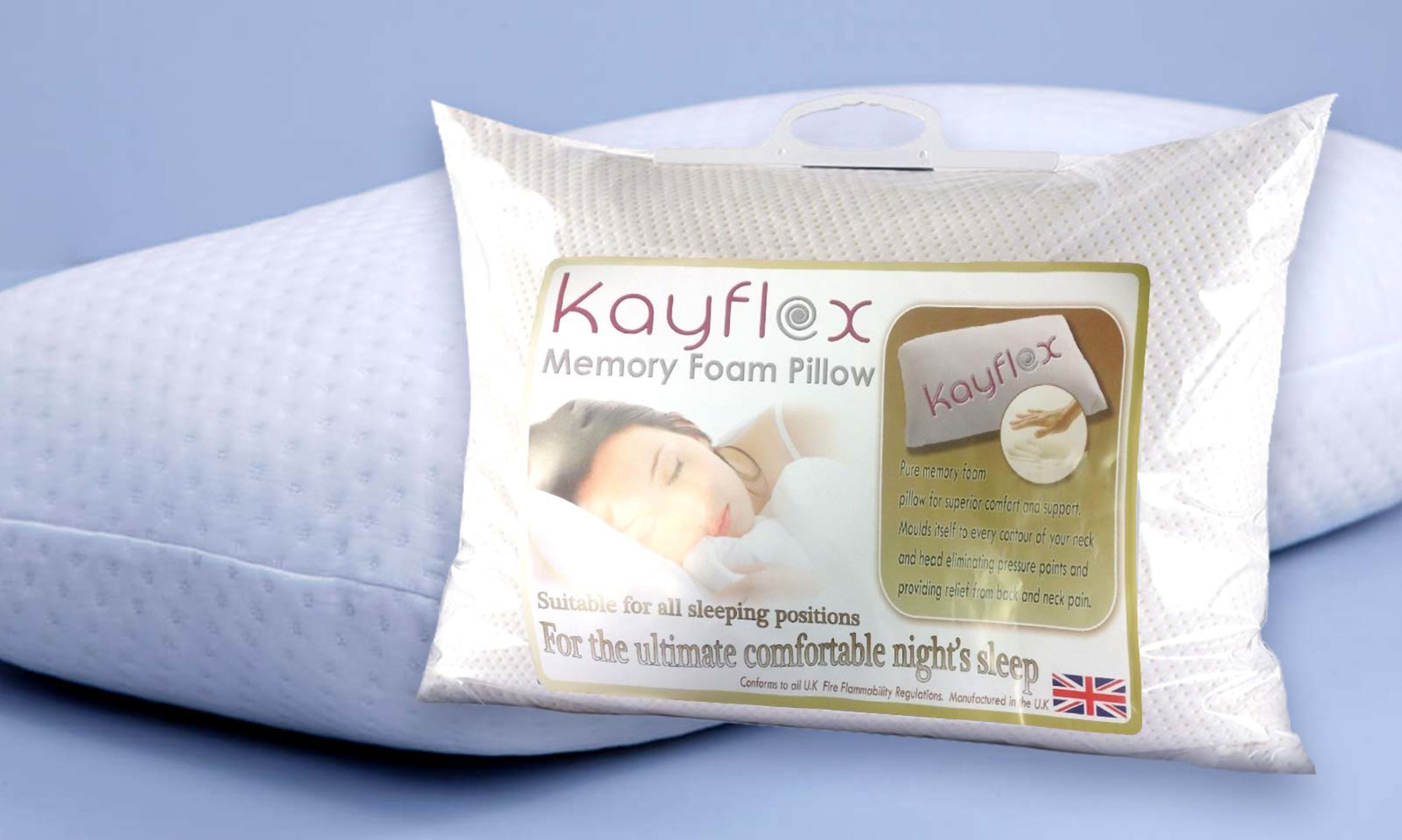 Free Memory Foam Pillows With All Orders Over £400-img