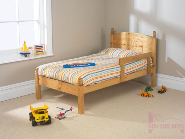 Made to Measure Child's Wooden Bed – Football Motif