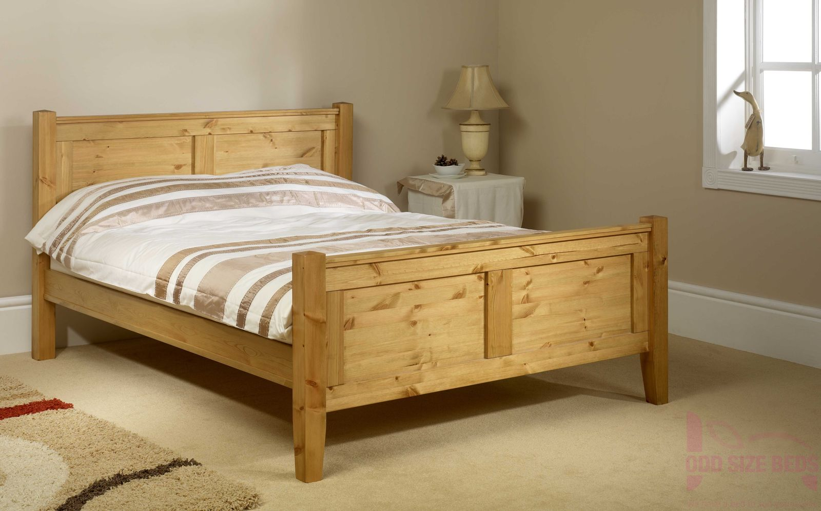 Made to Measure Coniston Wooden Bed High Foot End