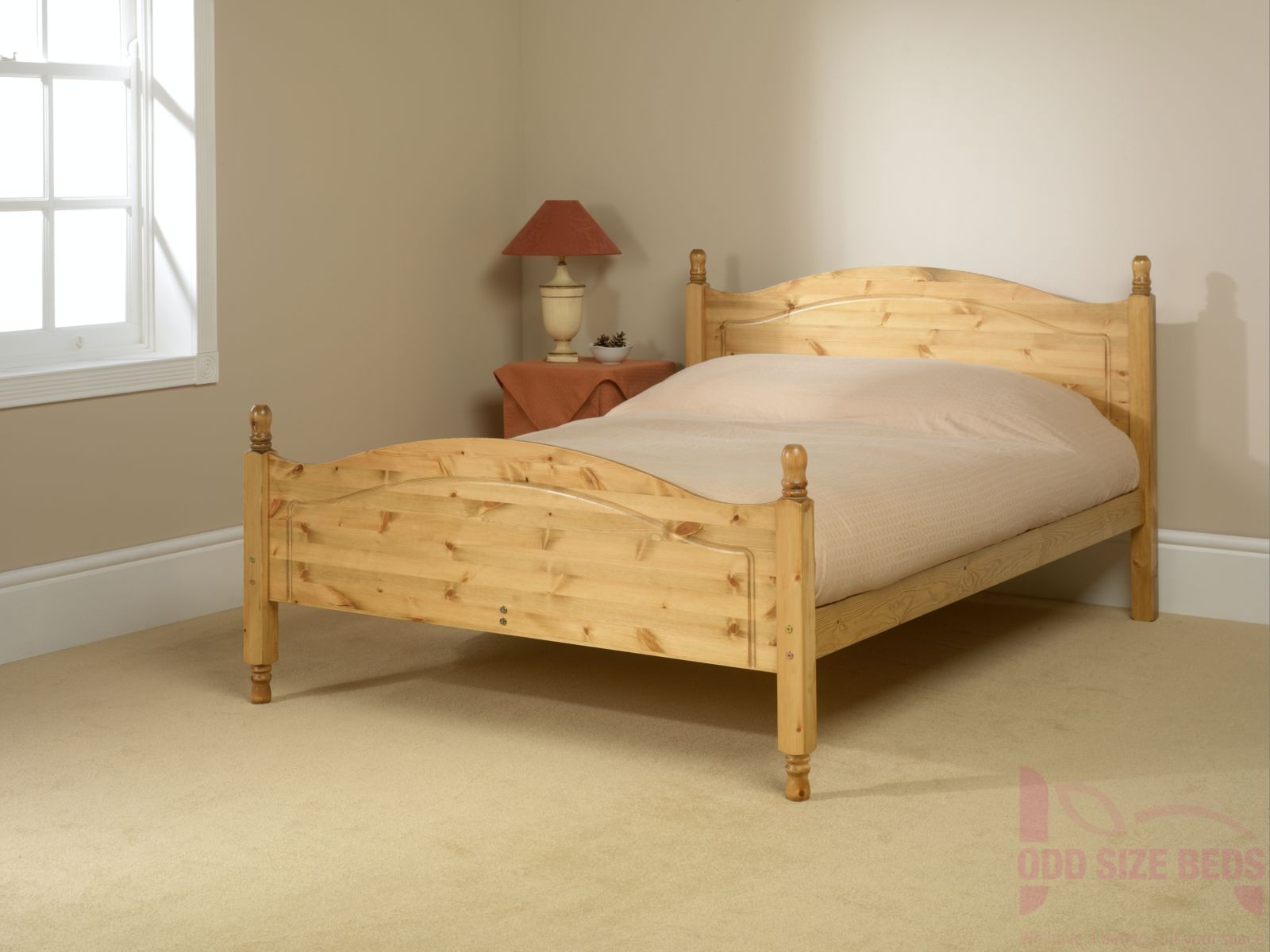Made to Measure Orlando Wooden Bed High Foot End